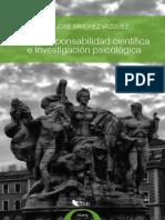 Sánchez Vazquez - Libro Ética, Responsabilidad e Investigación Psicológica