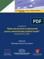 Manual Managementul de Proiect
