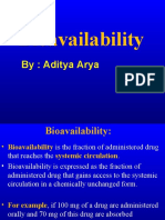 Pharmacology Bioavailability 101111055407 Phpapp01
