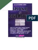 Florian Garz - Spionaj Si Diversiune
