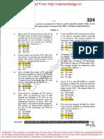 Cs Executive Taxation Solution Dec 2015 Exams