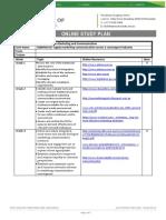 BSBMKG417-Online Study Plan