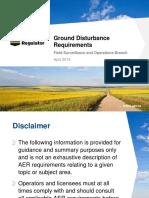GroundDisturbance Presentation