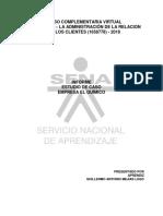 Informe de Empresa El Quimico - Guillermo Mejias