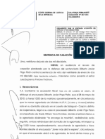 Casacion 337 2016 Cajamarca Lineamientos Para La Aplicacion Del Error de Comprension Culturalmente Condicionado Legis.pe