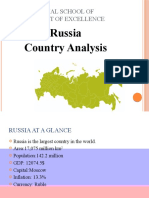 Russia Country Analysis