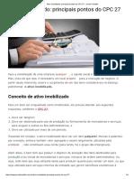 Ativo Imobilizado_ principais pontos do CPC 27 - Jornal Contábil.pdf