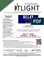 Employer Spotlights May 2018