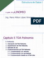estructura de datos en c++ clase polinomio