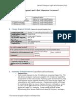 CHG0120206- 1 Solution Approach_Estimate