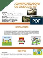 Empresa Comercializadora de Residuos Sólidos Ec Rs