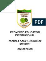 Proyecto Educativo Institucional 2013