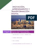 Innovación, Emprendimiento y Transformación Digital (España - La Salle)