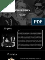 e Spiritism o