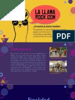 Brochure - La Llama Rock.com