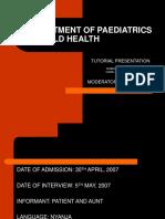 Pediatric case/tutorial on suspected Leukemia