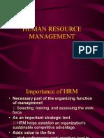 Human Resource Management Ppt