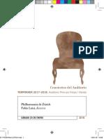 2018 01 20 Philharmonia de Zurich