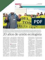 20 Años de Ecologistas