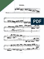 toccata BWV0911