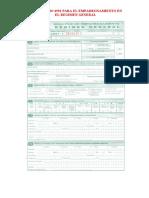 Impuestosformulario Regimen General