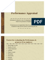 Performance Apprisal