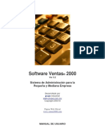 Manual Ventas2000