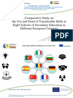 Output1 _Comparative Study on the Use and Need of Transferable Skills at Eight Schools of Secondary Education in Different European Countries
