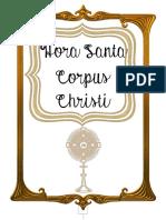 Hora Santa Corpus Christi - MINISTROS