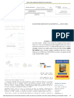 Ação Cautelar Satisfativa de Exibição de Documentos Banco
