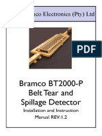 Bt2000 Belt Rip and Spillage Detector Installation and Instruction Manual