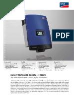 Datasheet STP 5000TL 12000TL