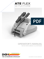 FLEX-InS-OMENG-R0 DGH Flex Operator's Manual (English)