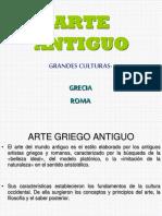 Arte Antiguo, Grecia y Roma 1