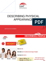 Physical Descriptions