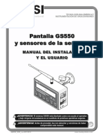 BTS LSI GS550 Manual Espanol