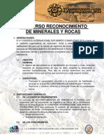 Bases de Concurso Rec Minerales y Rocas IV Comasurmin