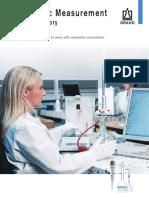 Brochuere Volumenmessung En