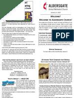 Bulletin Supplement January 21 2018