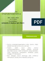 Patent Ductus Omphalomesentericus