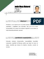 Hoja de Vida 2014José Fernando Meza Matorel