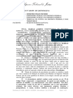 Habeas Corpus nº 430.959/ DF