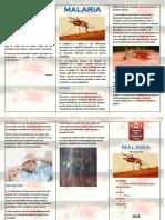 Triptico Malaria