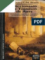 Fatas & Borras - Diccionario de Términos de Arte