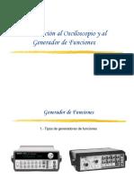 Osciloscopio y G F