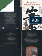 Jean Georges - La Escritura Archivo De La Memoria.pdf