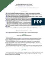 Metodologie Privind Elaborarea Devizului General