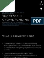 Toww Successful Crowdfunding Presentation