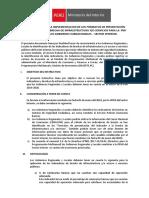 Instructivo del PMI
