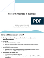 Marketing Research - 4 - 25Apr2010